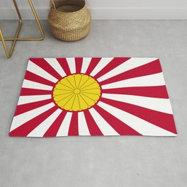 Japanese Flag And Inperial Seal Rug