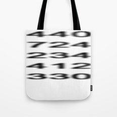 Penn-Ohio Underground - Area Codes Tote Bag