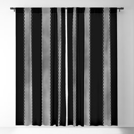 Gothic Stripes II Blackout Curtain