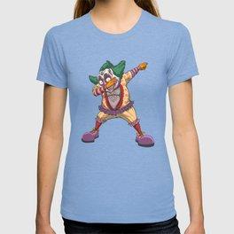 Dabbing Clown Funny Evil Halloween Clown T-shirt