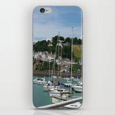 Boats in a Marina iPhone & iPod Skin