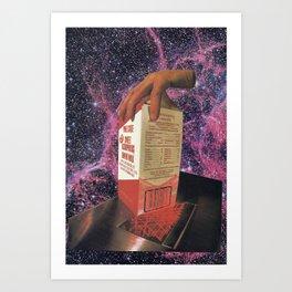Cosmilk void Art Print