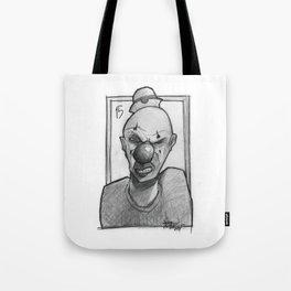 Clown number 15 Tote Bag