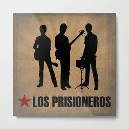 Los Prisioneros Metal Print
