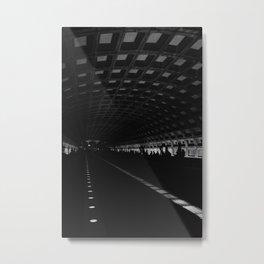 DC Metro Metal Print
