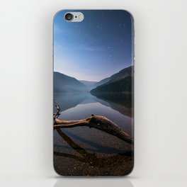 Glendalough at Night - Ireland | Print (RR 265) iPhone Skin