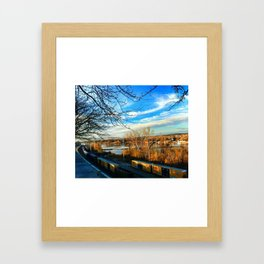 Capitol View of the Missouri Framed Art Print
