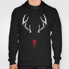 Rudolph the Bloody Nosed Reindeer Hoody