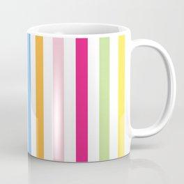 Neon Stripes Coffee Mug