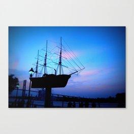 Steel Ship Canvas Print