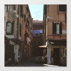 Calle Marcello Canvas Print