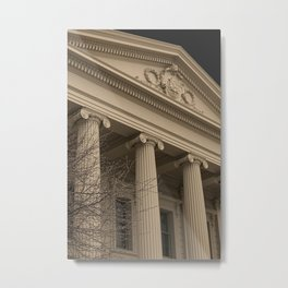 Building with Corinthian Pillars Metal Print