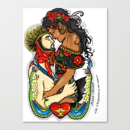 !Oh, Chiapaneca mi amor! Canvas Print