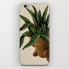 Cactus ice cream iPhone Skin
