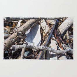 Pile Of Small Twigs Rug