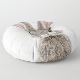 Bunny Portrait Floor Pillow