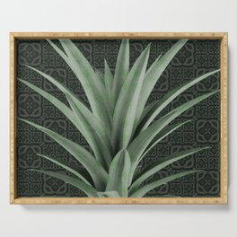 Moroccan Midnight Pineapple Serving Tray