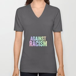 Fight Racism | Antifacists Against Nazis Gift Ideas Unisex V-Neck