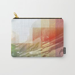 Pixel view over the valley Carry-All Pouch