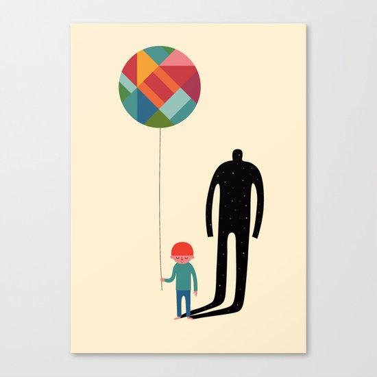 Grow Up Canvas Print