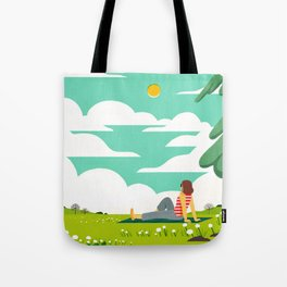 How to be Happy IV Tote Bag
