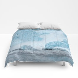 Icy Thunder Comforters