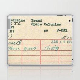 Library Card 797 Laptop & iPad Skin