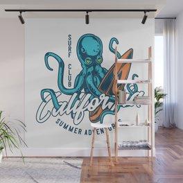 California Surf Club Wall Mural