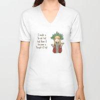thranduil V-neck T-shirts featuring Thranduil To-Do List  by BlacksSideshow