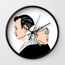 Strange Love: Lost in Translation Wall Clock