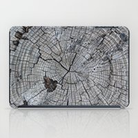 tree rings iPad Cases featuring Rings by Elizabeth Velasquez