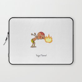 Yoga Flame! Laptop Sleeve