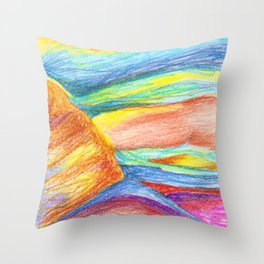 landscape or something else Throw Pillow