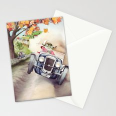 He was Toad once more - From The Wind in the Willows - By Kenneth Grahame Stationery Cards