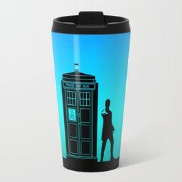 Tardis With The Twelfth Doctor Travel Mug