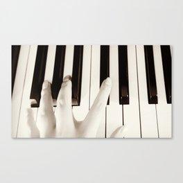 Musical Hand Canvas Print