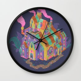 The Lodge Wall Clock