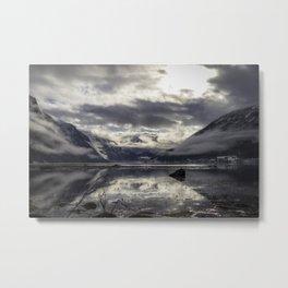 Fjaerlandsfjorden Metal Print