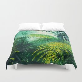 Rainforest Lights and Shadows Duvet Cover