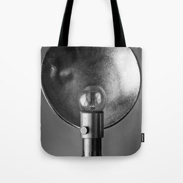 Retro Photo Flash Bulb Tote Bag