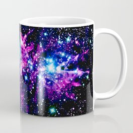 Fox Fur Nebula Dark & Vibrant Coffee Mug