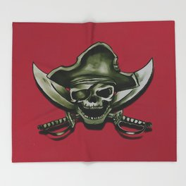 Shiver Me Timbers Throw Blanket