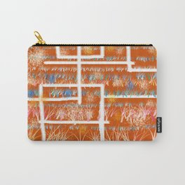 Orange Room Carry-All Pouch