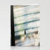 spider Stationery Cards featuring SPIDER by sincerelykarissa