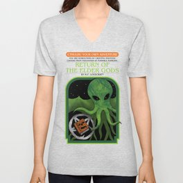 Cthulhu Your Own Adventure Unisex V-Neck