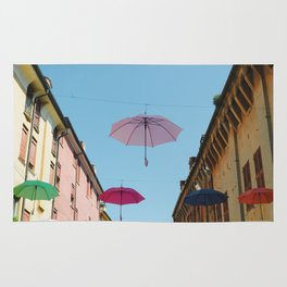 Umbrellas of Ferrara Rug