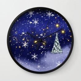 Xmas Season4 Wall Clock