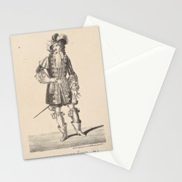 Aumer Jean M  ELe duc de Vendome Mr Aumer dans Les pages du duc de Vendome ballet pantomime en acte Academie Rle de musiqueAdditional Pages du duc de Vendom Stationery Cards