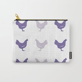 The Purple Hen Carry-All Pouch