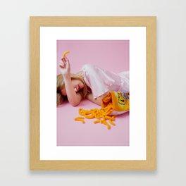 Cheetos forever Framed Art Print